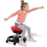 Der Swoppster ist der ideale Bürostuhl für Kinder