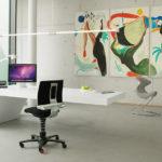 Home-Office Arbeiten wird wohnlich