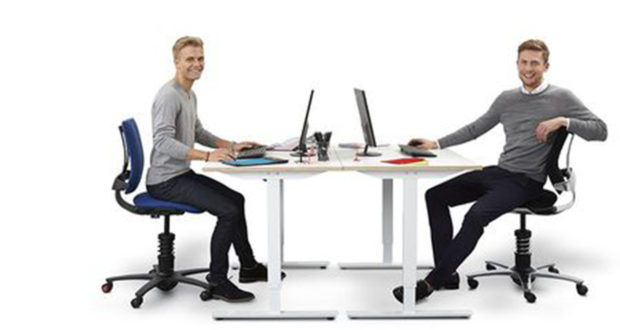 3Dee Bürostuhl für große Personen