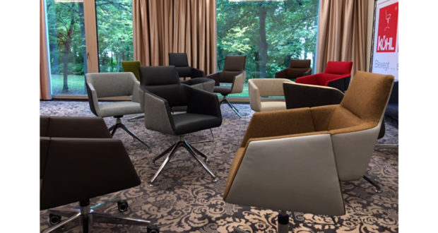 Köhl Drehstuhl Artiso für Büro und zu Hause