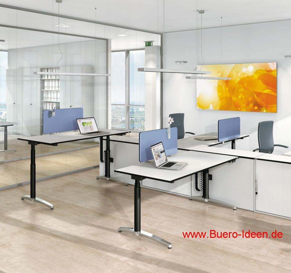 assmann b rom bel canvaro tisch mit motor carala. Black Bedroom Furniture Sets. Home Design Ideas