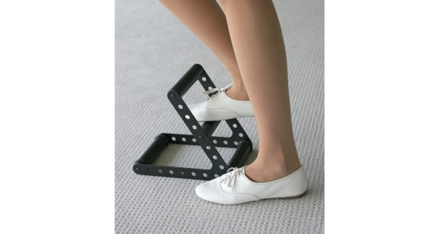 Ergonomische Fußstütze
